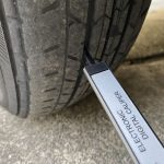 タイヤ溝の測り方