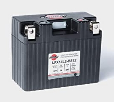 SHORAI LFX バッテリー LFX14L2-BS12
