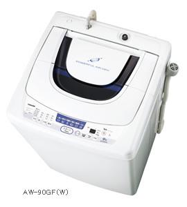東芝 全自動洗濯機(AW-90GF) 風呂水ポンプの寿命