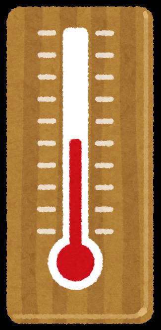 1年の月別による平均気温まとめ(早見表)