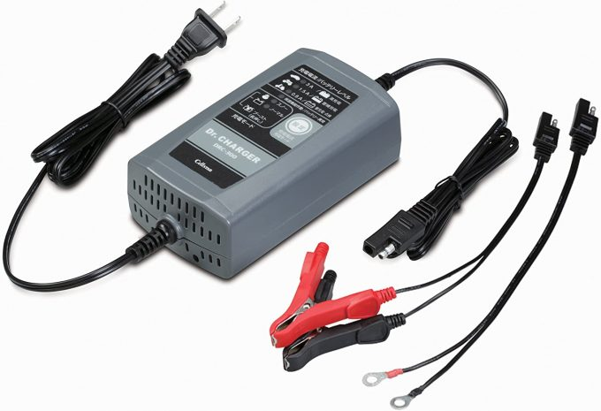 【Amazon.co.jp限定】セルスター バッテリー充電器 DRC-300AMZ (フロート+サイクル充電)12Vバッテリー専用