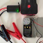 YABER ジャンプスターター 12V エンジンスターター 充電方法/テスター電圧計