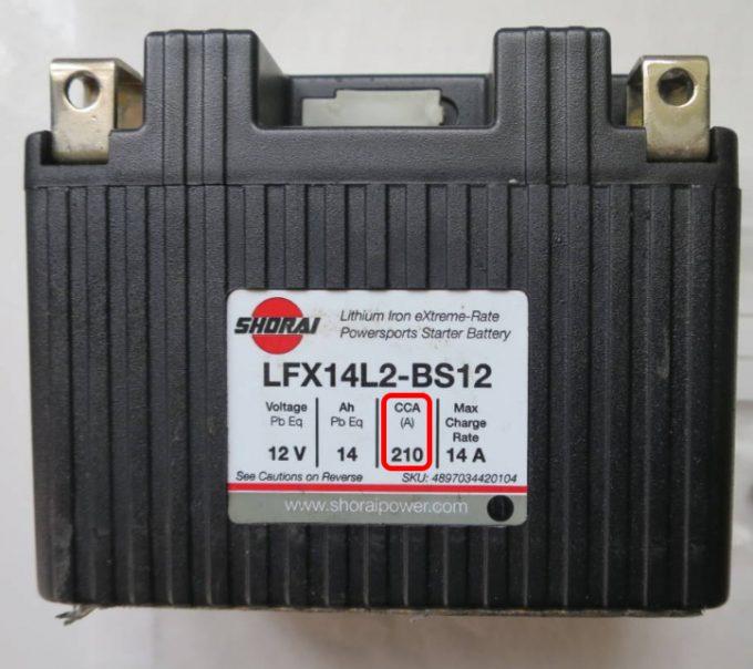 LFX14L2-BS12(14Ah/210CCA)